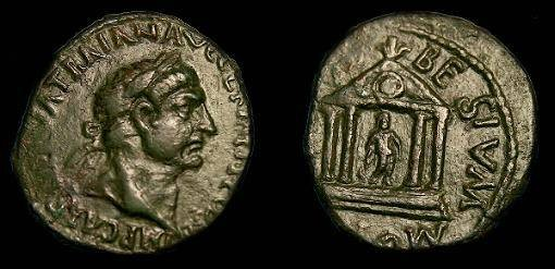 Ancient Coins - Trajan.  Ae23.  98-117 Ad.  Appealing coin.