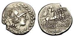 Ancient Coins - Cn Gellius Ar Denarius