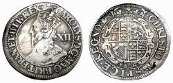 Ancient Coins - CHARLES I AR SHILLING. YORK MINT