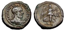 Ancient Coins - Philip I Bi Tetradrachm. Alexandria Mint. Year 3