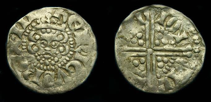 Ancient Coins - Henry III.  Short cross penny.  1216-1247.  Nice Lincoln mint.