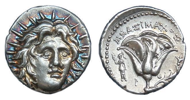Ancient Coins - CARIA RHODES AR DIDRACHM