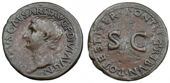 Ancient Coins - DRUSUS AE AS