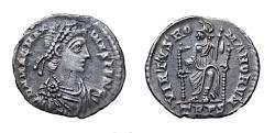 Ancient Coins - Magnus Maximus.  Ar Siliqua