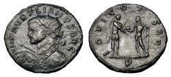Ancient Coins - Scarce Aurelian Ae Antoninianus. Serdica Mint