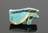 Ancient Coins - EGYPTIAN FAIENCE EYE OF HORUS AMULET