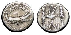 Ancient Coins - Mark Antony Ar Denarius