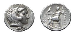 Ancient Coins - Alexander III the Great. Ar Tetradrachm.  Memphis or Alexandria Mint