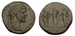 Ancient Coins - Septimius Severus Ae Sestertius