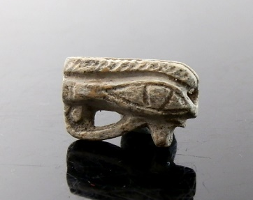 Ancient Coins - EGYPTIAN STEATITE OPENWORK EYE OF HORUS AMULET OF HOTSHEPSUT