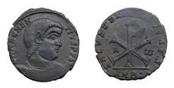 Ancient Coins - Magnentius.  Ae  Double Centenionalis.   350-353 AD.  Ambianum Mint.