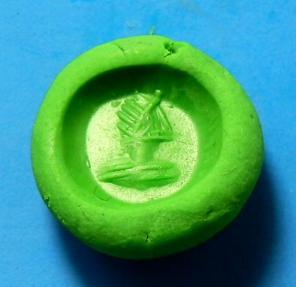 Ancient Coins - SASANIAN CARNELIAN STAMP SEAL DEPICTING MALE BUST
