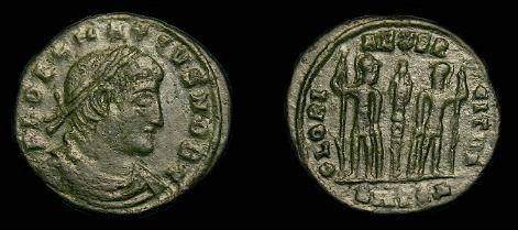Ancient Coins - Delmatius.  Ae3/4.  335-337 AD.  Scarce.