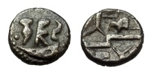 Ancient Coins - UNINSCRIBED DUROTRIGES AR QUARTER STATER