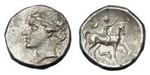 Ancient Coins - CALABRIA TARENTUM AR STATER