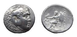 Ancient Coins - Macedon. Alexander III the Great. Ar Tetradrachm. Aspendos Mint. Postumus Issue
