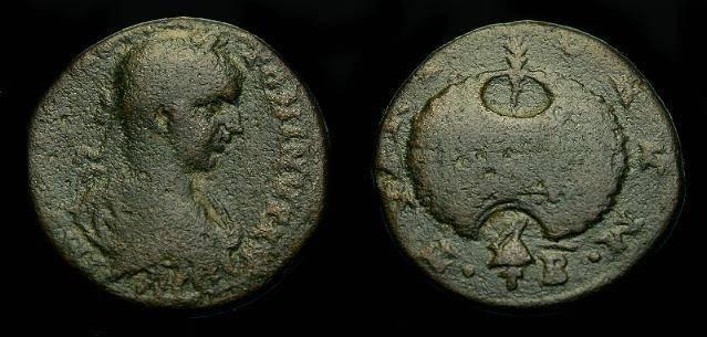 Ancient Coins - Elagabalus.  Ae 27.  Phoenicia, Tyre.  218-222 AD.