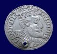 Ancient Coins - Sigismund III 1587-1632, Silver 3 Groschen. Dated 1598