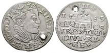 World Coins - SIGISMUND III. 1587-1632, Silver 3 Groschen. Year 1589