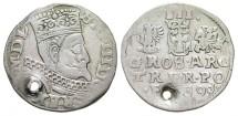 Ancient Coins - SIGISMUND III. 1587-1632, Silver 3 Groschen. Year 1599