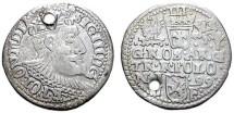 World Coins - SIGISMUND III. 1587-1632, Silver 3 Groschen. Year 1599