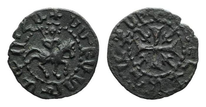 World Coins - Cilician Armenia. Smpad. Pogh. Cross. # 9046
