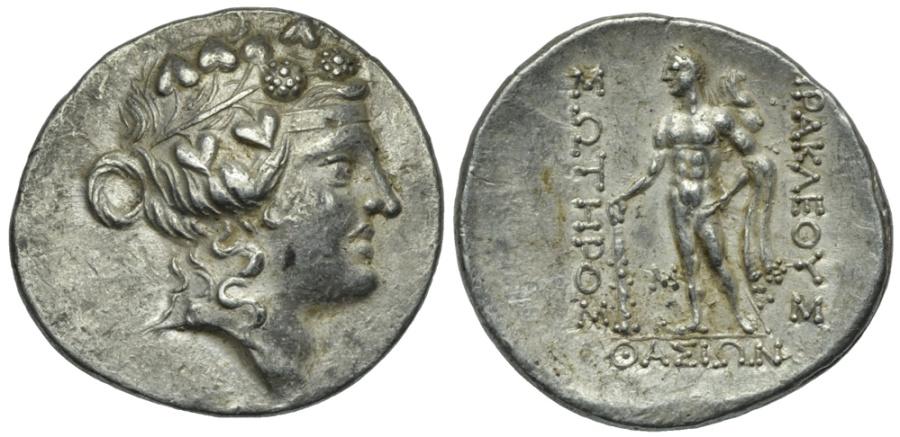Ancient Coins - ISLANDS off THRACE, Thasos. AR  Tetradrachm # 153