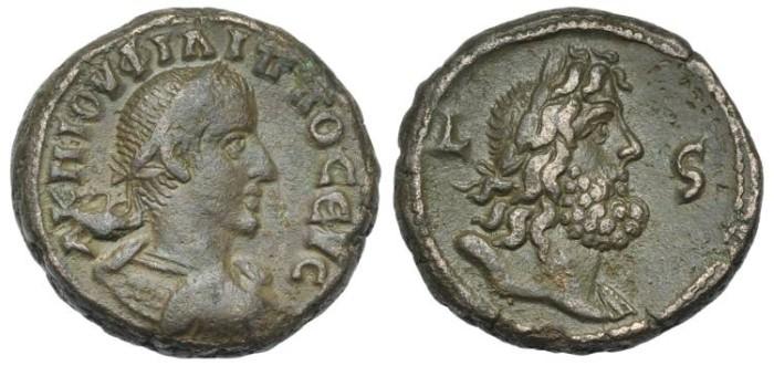Ancient Coins - EGYPT, Alexandria. Philip II. BI Tetradrachm  Zeus # DI 7253