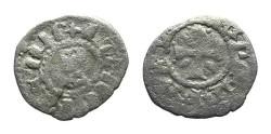 World Coins - Cilician Armenia. Levon V. Billon. Cross. # 9080