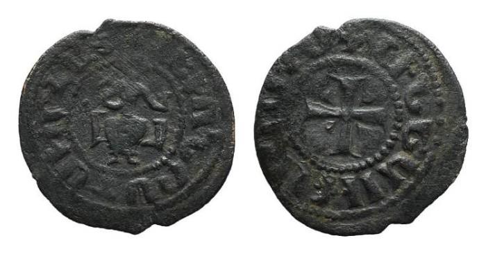 World Coins - Cilician Armenia. Levon IV. Large Pogh. Cross. # 9062