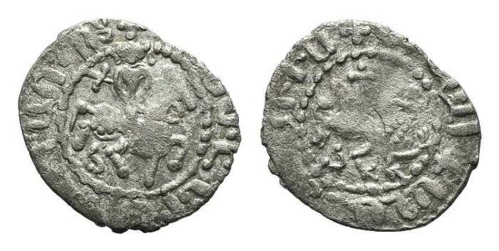 World Coins - Cilician Armenia. Gosdantin III. Takvorin. Cross. #9071