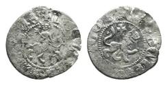 World Coins - Cilician Armenia. Levon III. Takvorin. Lion. Cross. # 9051