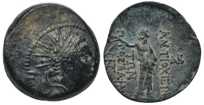 Ancient Coins - SELEUKID KINGS of SYRIA  Antiochos IV Epiphanes #FG 0068