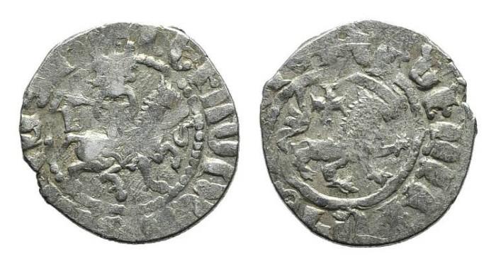 World Coins - Cilician Armenia. Levon IV. Takvorin. Lion. Cross. # PO 107
