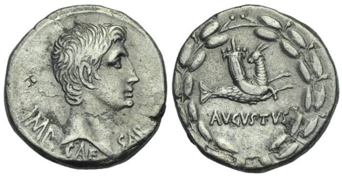 Ancient Coins - Augustus. 27 BC-AD 14. AR Cistophorus # S7188