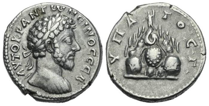 Ancient Coins - CAPPADOCIA, Caesarea. Marcus Aurelius #DH7106