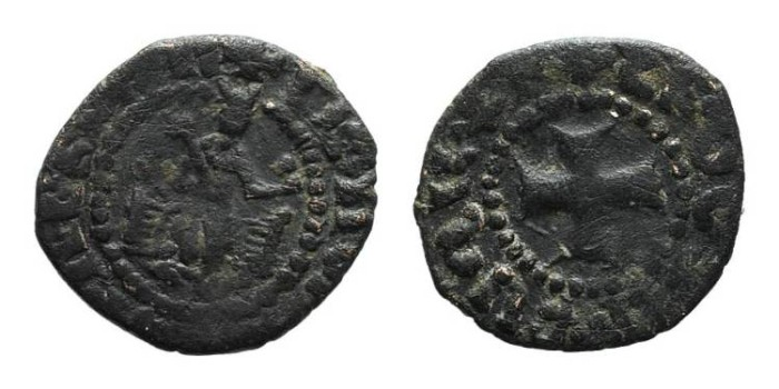 World Coins - Cilician Armenia. Levon IV. Pogh. Cross. # 9065