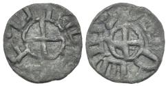 World Coins - RARE Cilician Armenia. Baronial. Roupen I. Cross. # 0144