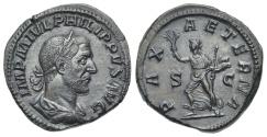 Ancient Coins - Philippus I. Arabs, AE Sestertius, Pax # AK 0135