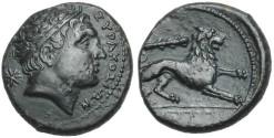 Ancient Coins - SICILY, Syracuse. Agathokles. 317-289 BC # S 7198