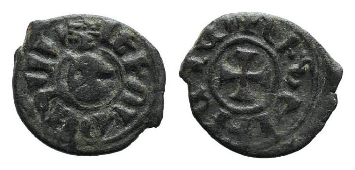 World Coins - Cilician Armenia. Levon III. Kardez. Cross. # 9054