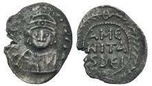 Ancient Coins - Theodosius. AR Half Siliqua, Very rare! #DR 0045