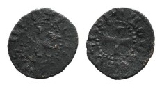 World Coins - Cilician Armenia. Levon V. Pogh. Lion. Cross. # 9084