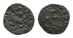World Coins - Cilician Armenia. Levon V. Pogh. Lion. Cross. # 9085
