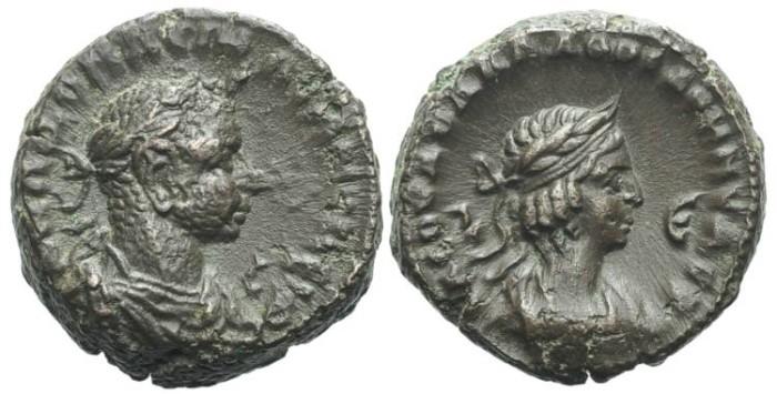 Ancient Coins - EGYPT, Alexandria. Aurelian, with Vaballathus #7133