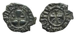 World Coins - Cilician Armenia. Levon III. Kardez. Cross. # 9057