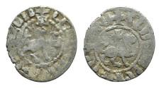 World Coins - Cilician Armenia. Levon IV. Takvorin. Lion. Cross. # PO 112