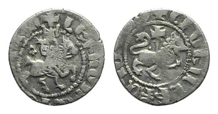 World Coins - Cilician Armenia. Levon IV. Takvorin. Lion. Cross. # PO 113