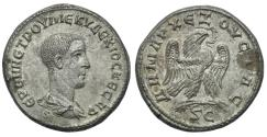 Ancient Coins - SYRIA  Antioch Herennius Etruscus Billon Tetradrachm # ST 0063
