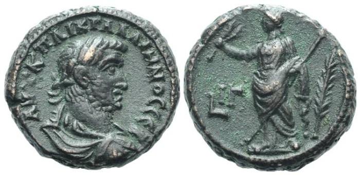 Ancient Coins - Egypt, Alexandria. Gallienus, Eirene #7138